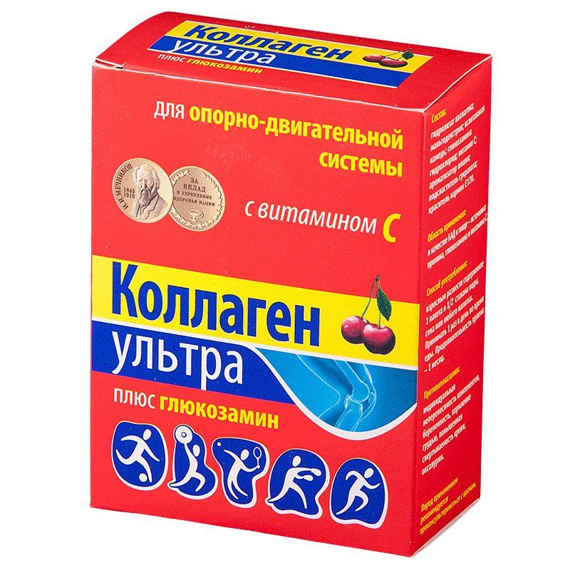 фото упаковки Коллаген Ультра плюс глюкозамин