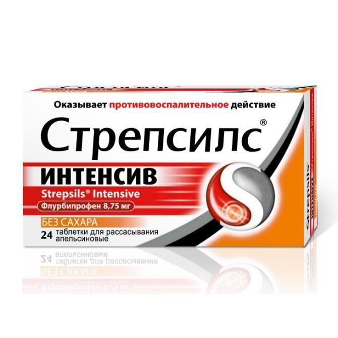 фото упаковки Стрепсилс интенсив без сахара