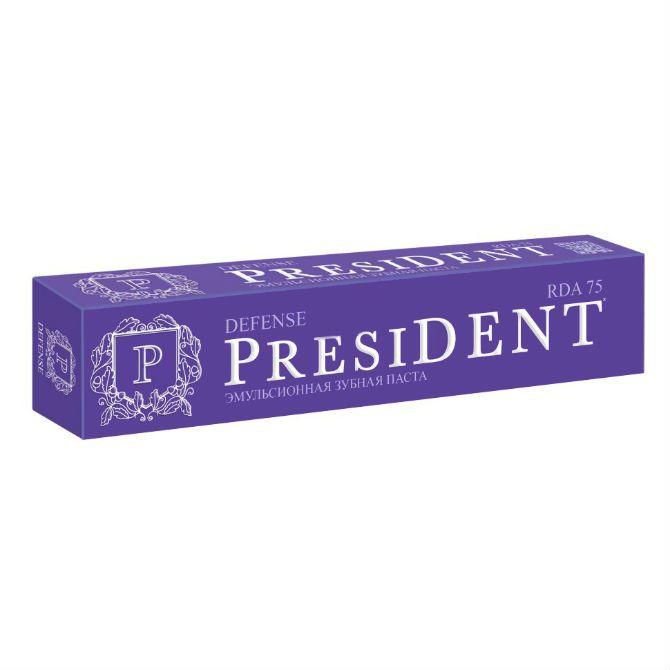 фото упаковки PresiDent Defense зубная паста