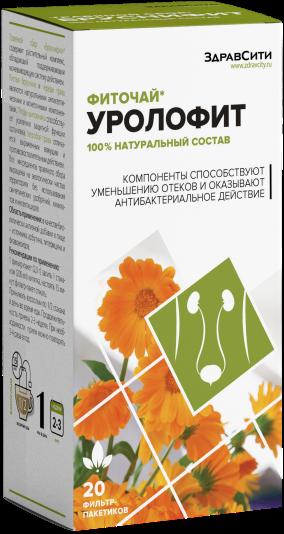 фото упаковки Здравсити Уролофит фиточай