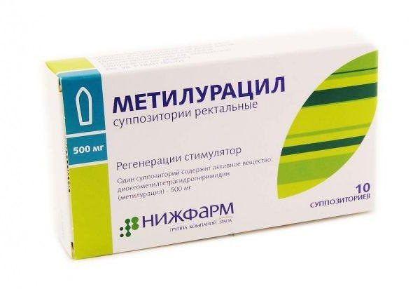 фото упаковки Метилурацил