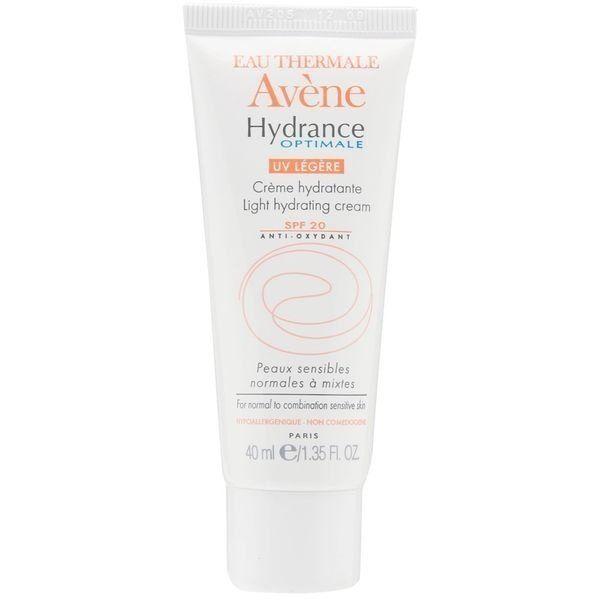 Avene Hydrance Optimale Legere UV20 крем увлажняющий для нормальной и смешанной кожи, крем для лица, 40 мл, 1 шт.