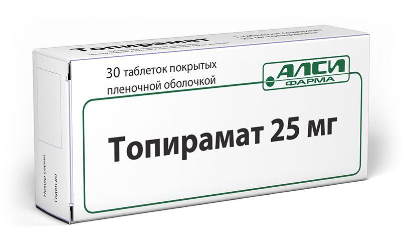 фото упаковки Топирамат