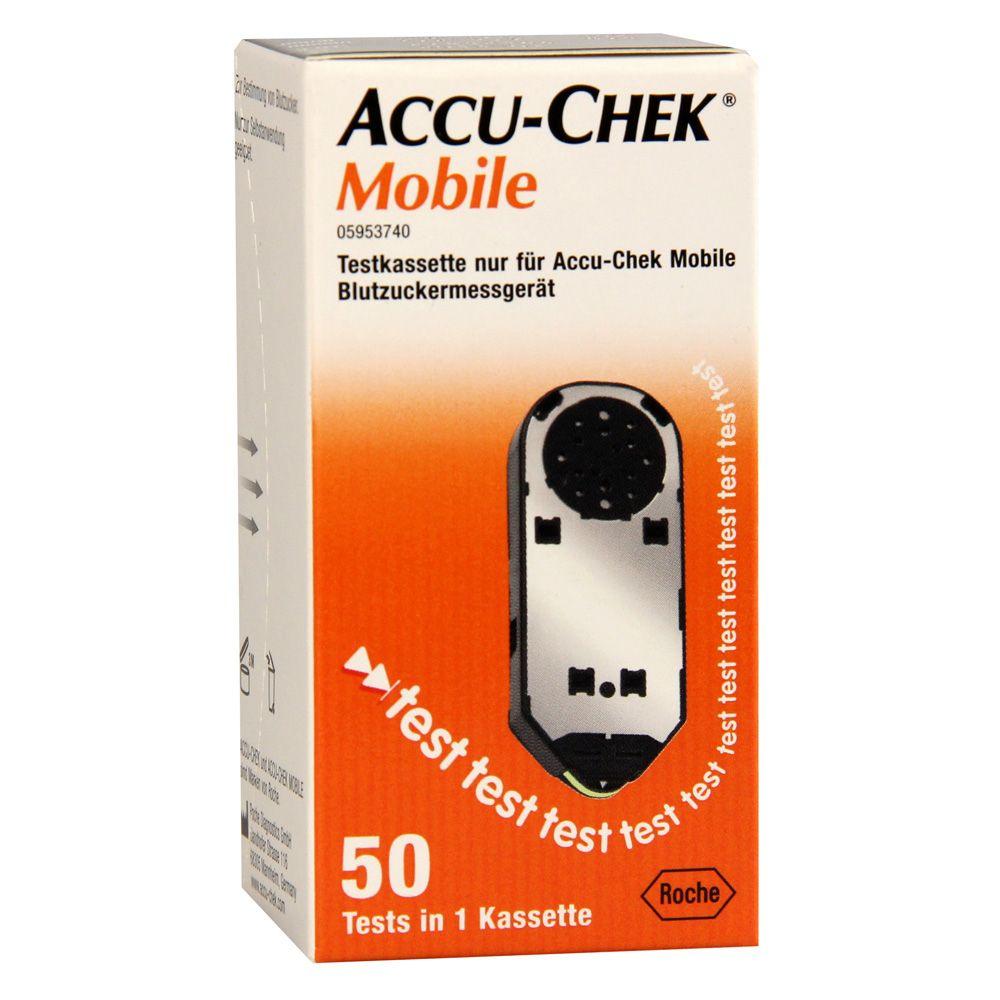 Тест-полоски Accu-chek Mobile, тест-система, 50 шт.