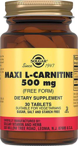 фото упаковки Solgar L-Карнитин 500 мг