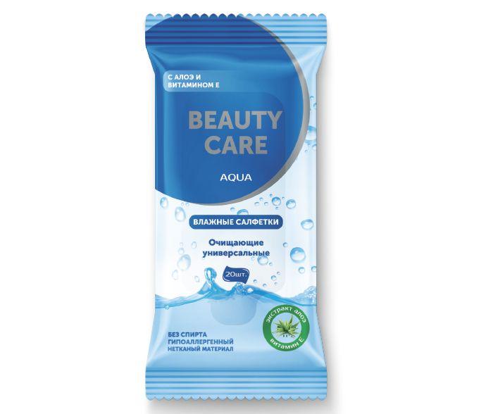 фото упаковки BC Салфетки очищающие универсальные Алоэ и витамин Е