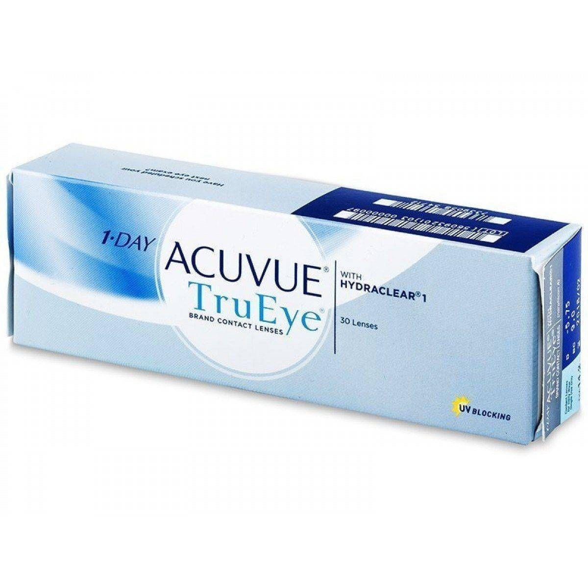 фото упаковки 1-Day Acuvue TruEye Линзы контактные Однодневные