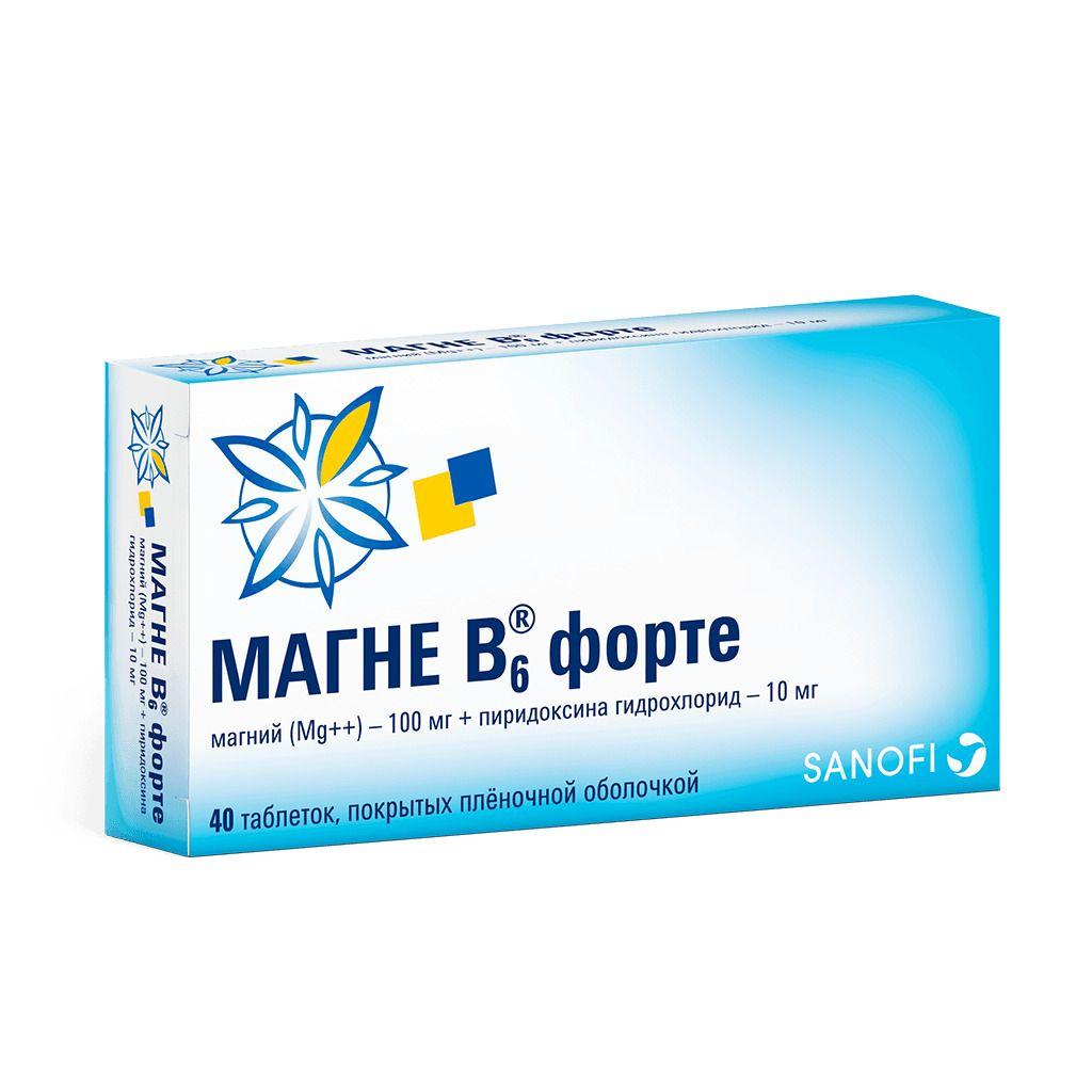 фото упаковки Магне B6 форте