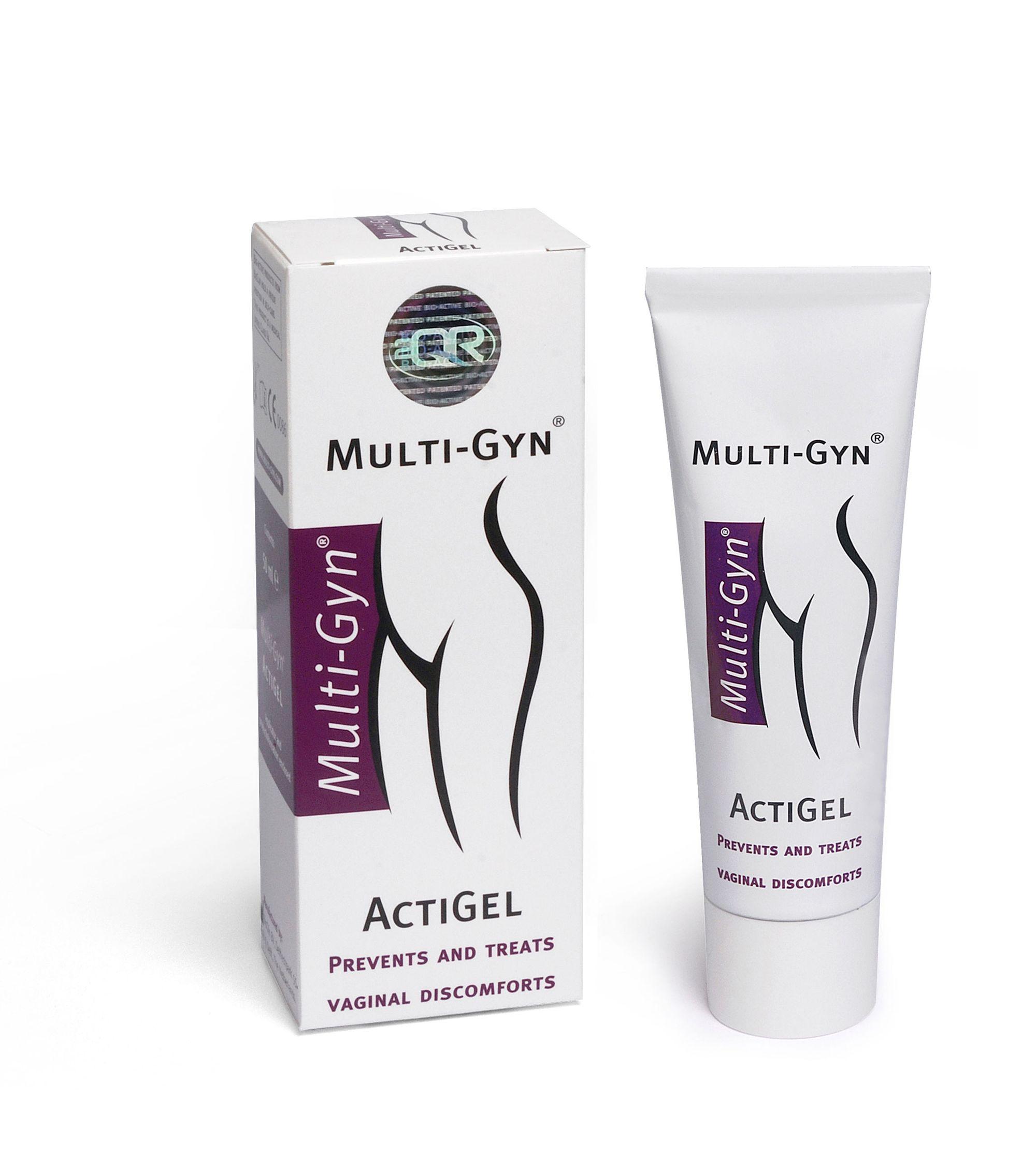 Multi-Gyn Actigel гель вагинальный, гель вагинальный, 50 мл, 1 шт.