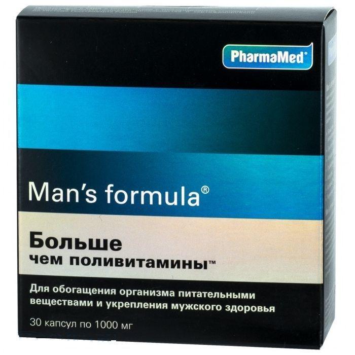 фото упаковки Man's formula Больше чем поливитамины