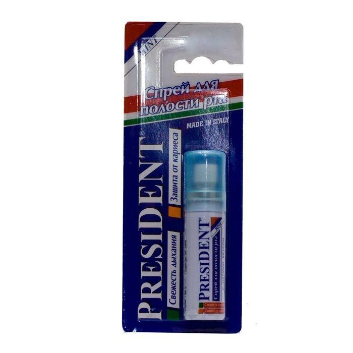 фото упаковки PresiDent Спрей для полости рта мята