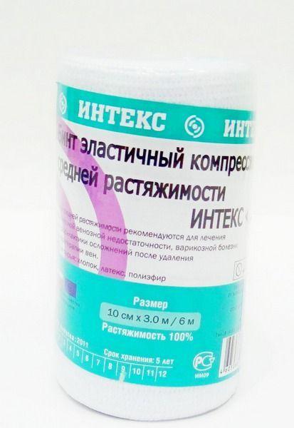 фото упаковки Интекс-Лайт Бинт эластичный компрессионный
