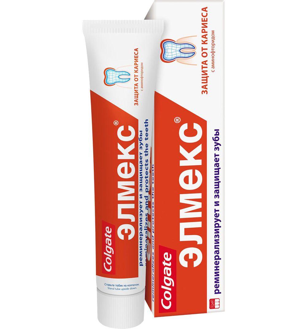 фото упаковки Элмекс Зубная паста от кариеса