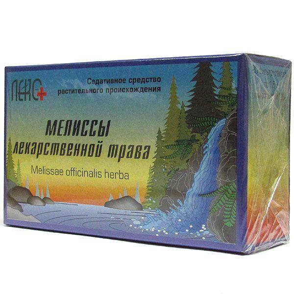 фото упаковки Мелиссы лекарственной трава