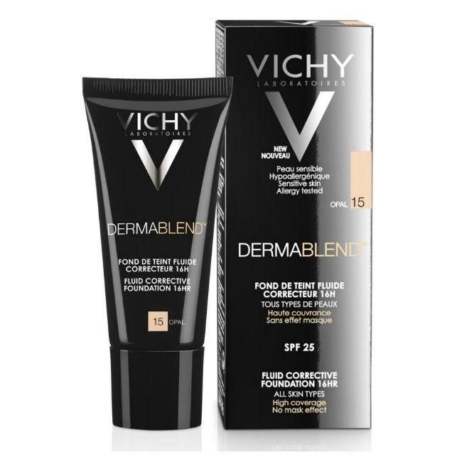 фото упаковки Vichy Dermablend флюид тональный корректирующий тон 15