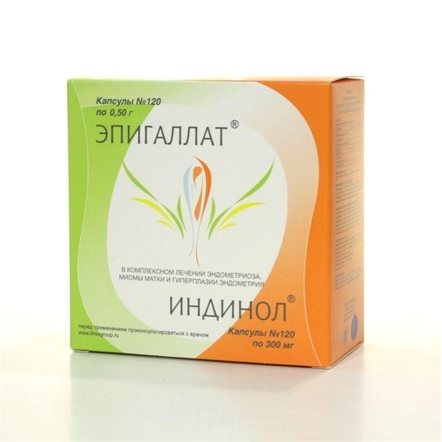 фото упаковки Эпигаллат+Индинол