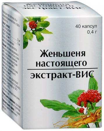 фото упаковки Женьшеня настоящего экстракт-ВИС