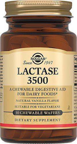 Solgar Лактаза 3500, таблетки жевательные, 30 шт.