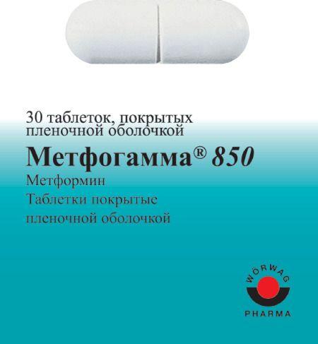 фото упаковки Метфогамма 850