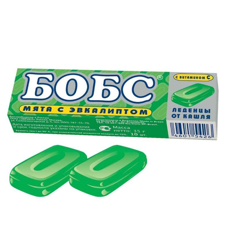 фото упаковки БОБС леденцы с витамином C