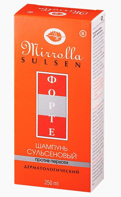 фото упаковки Mirolla Сульсен Форте Шампунь сульсеновый против перхоти