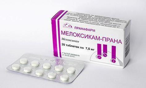 фото упаковки Мелоксикам-Прана