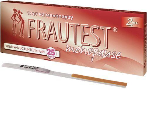фото упаковки Frautest Menopause тест для определения менопаузы