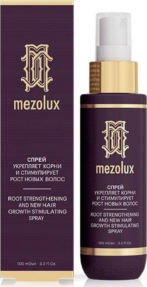 фото упаковки Librederm Mezolux Спрей для волос укрепляющий и  стимулирующий