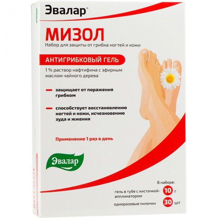 фото упаковки Мизол гель для ухода за ногтями и кожей
