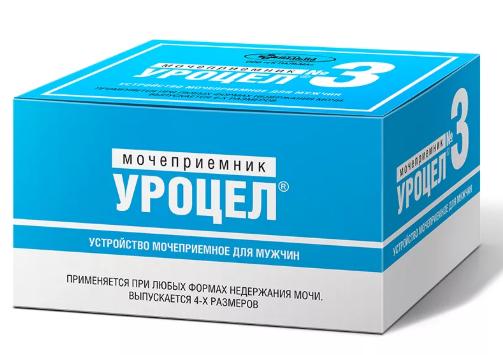 фото упаковки Мочеприемник для мужчин Уроцел размер 3