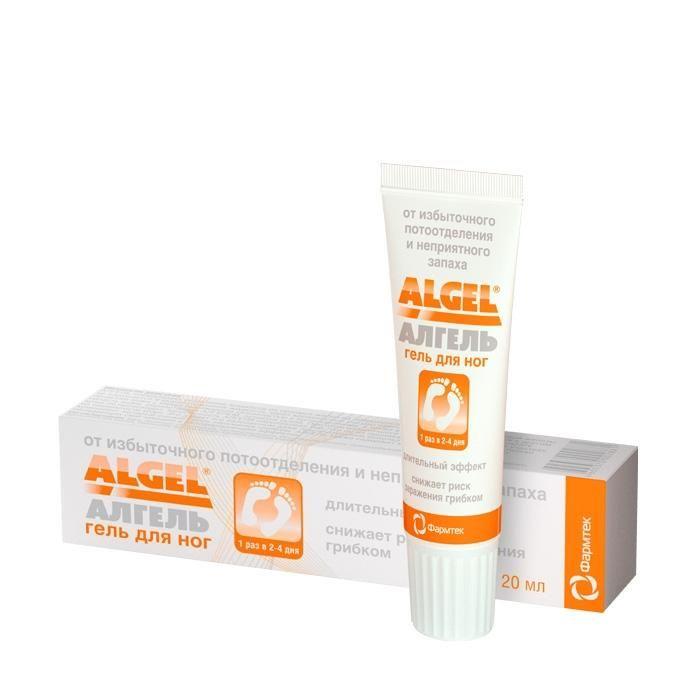 фото упаковки Алгель гель для ног