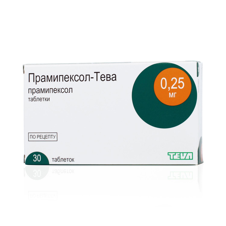 фото упаковки Прамипексол-Тева