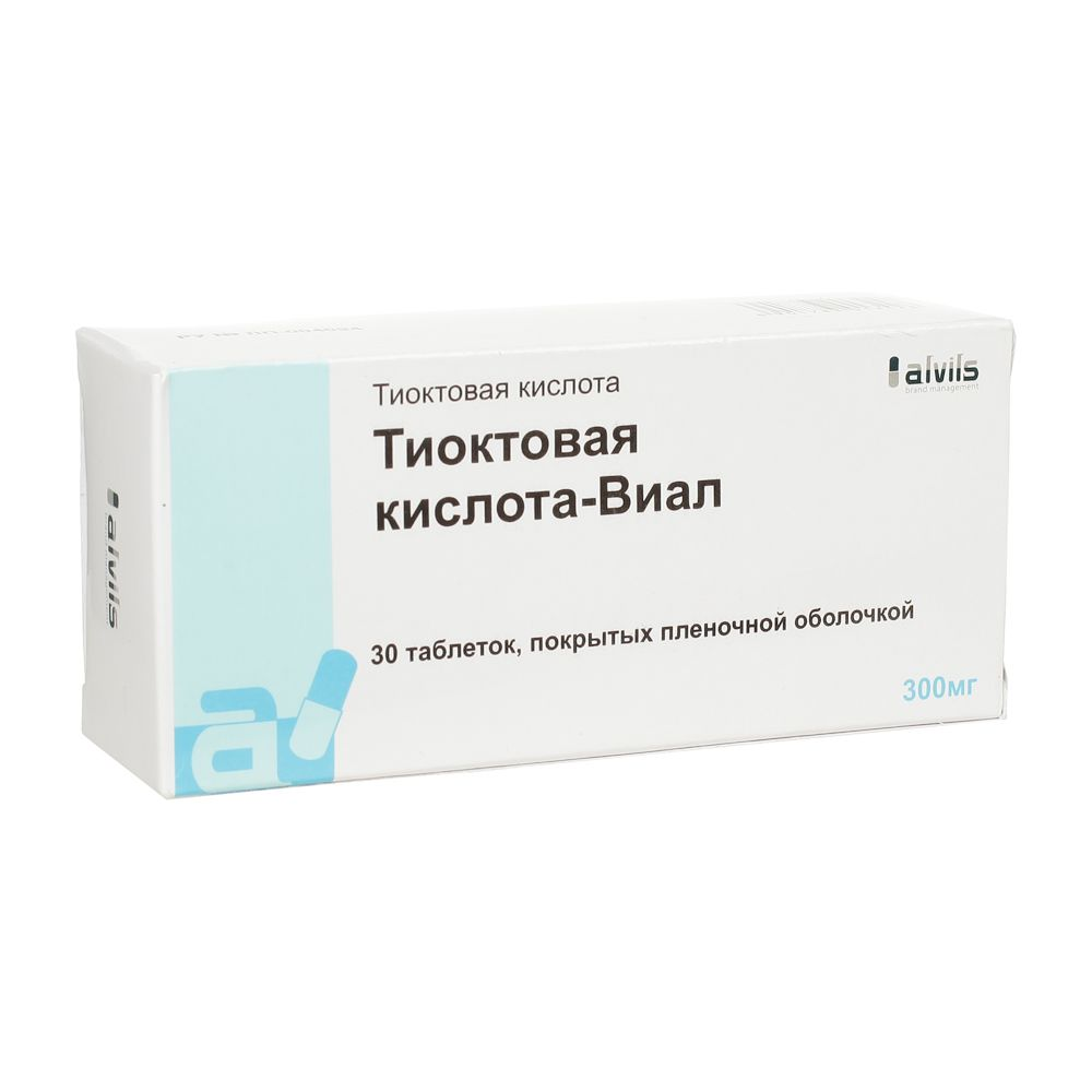 фото упаковки Тиоктовая кислота-Виал