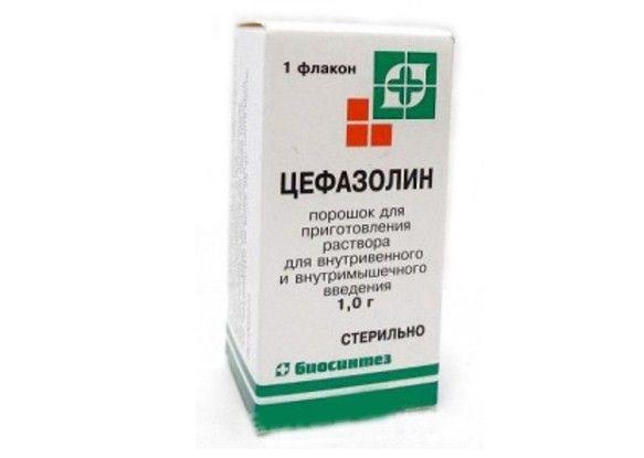 Цефазолин,