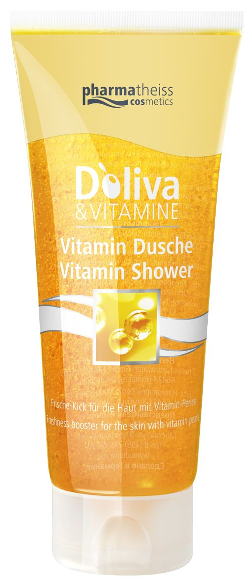 Doliva Vitamine Гель для душа с витаминами, гель для душа, 200 мл, 1 шт.