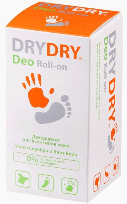 фото упаковки Dry Dry Deo дезодорант для всех типов кожи