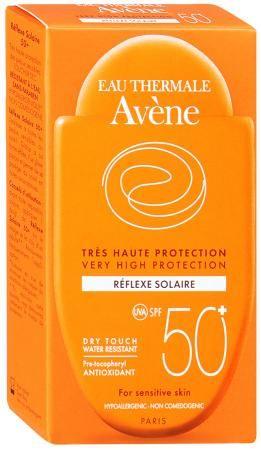фото упаковки Avene солнцезащитная компакт эмульсия SPF50+