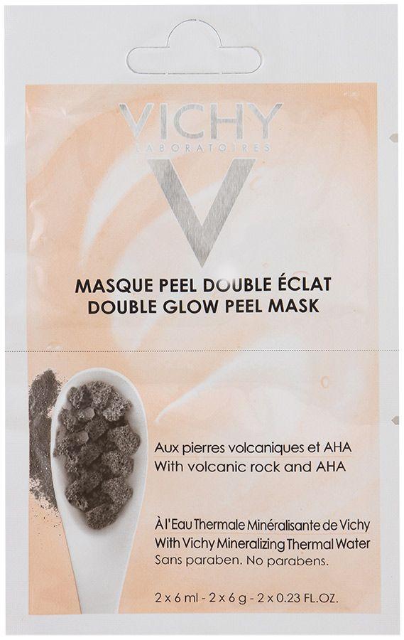 фото упаковки Vichy маска-пилинг минеральная Двойное сияние