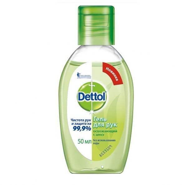 фото упаковки Dettol Гель для рук антибактериальный с алоэ