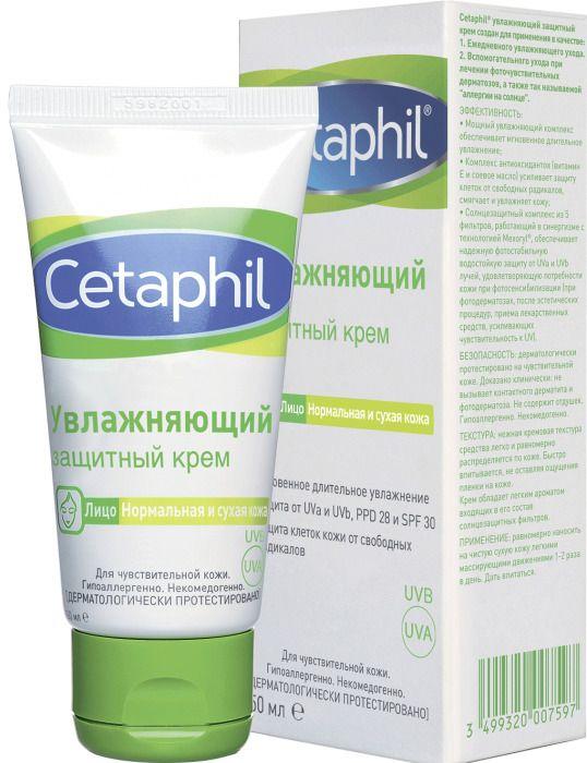 фото упаковки Cetaphil Крем увлажняющий защитный