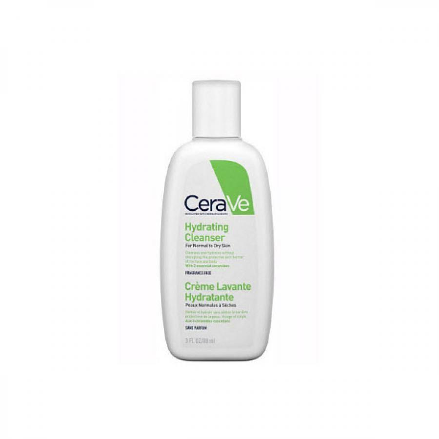фото упаковки CeraVe Увлажняющий очищающий крем-гель для лица и тела