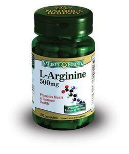 фото упаковки Natures Bounty L-Аргинин 500 мг