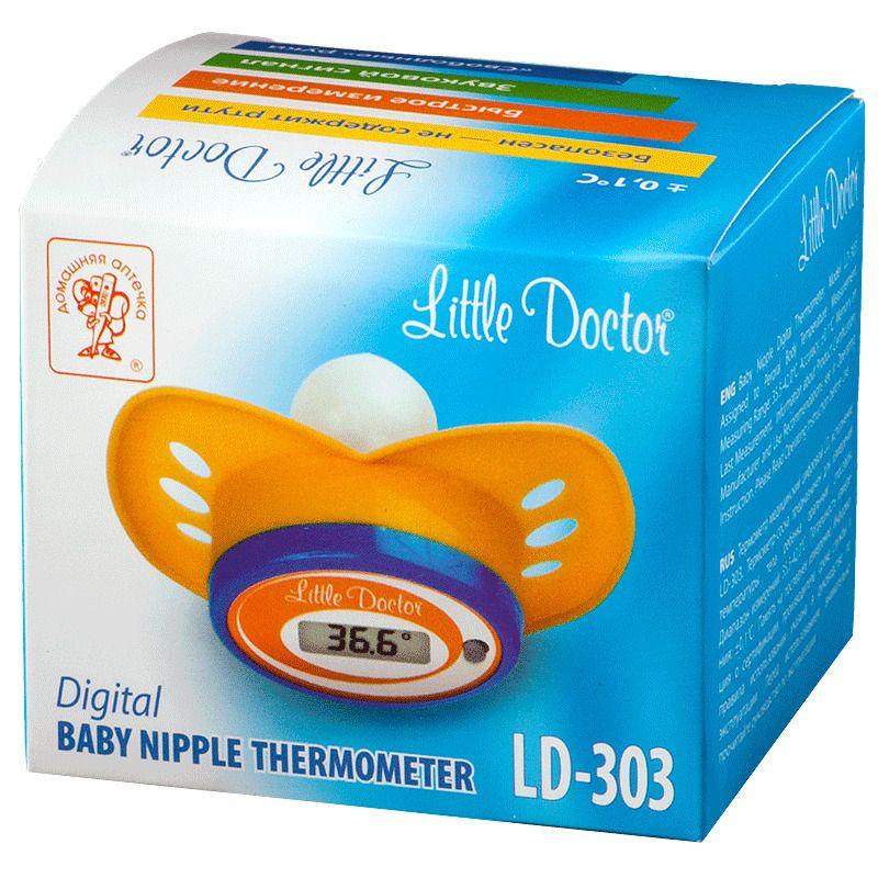 фото упаковки Термометр медицинский цифровой LD-303 соска