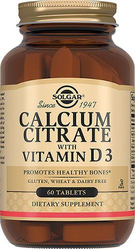 фото упаковки Solgar Цитрат кальция с витамином D3