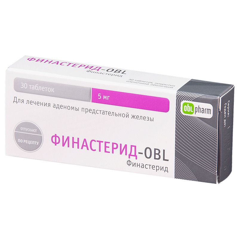 фото упаковки Финастерид-OBL
