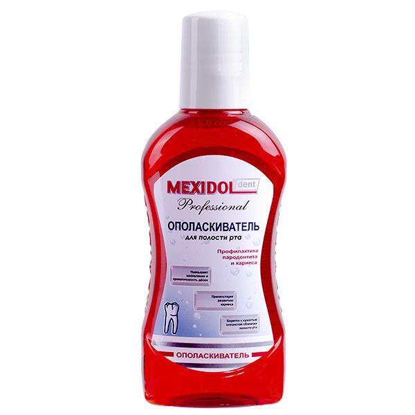 Mexidol dent Professional Ополаскиватель, раствор для полоскания полости рта, 250 мл, 1 шт.