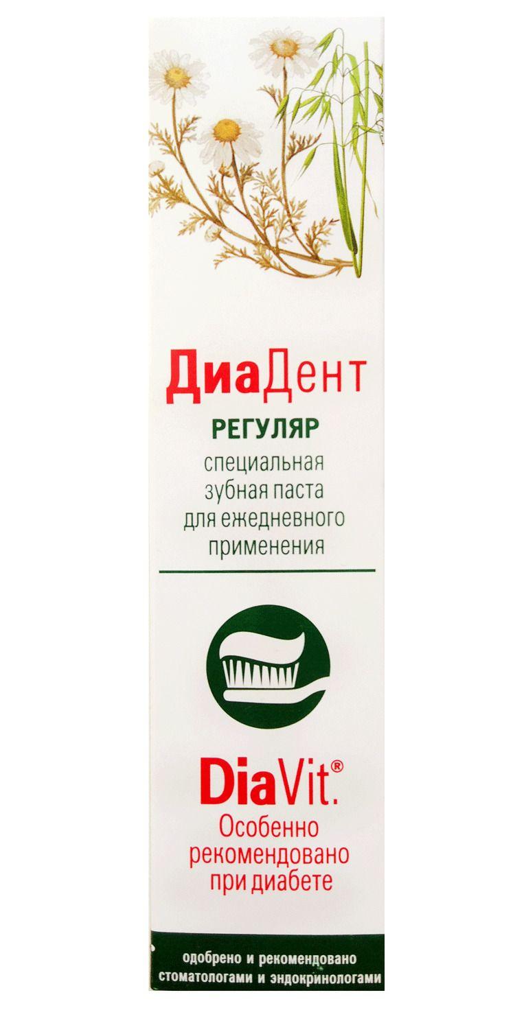 фото упаковки ДиаДент Регуляр зубная паста