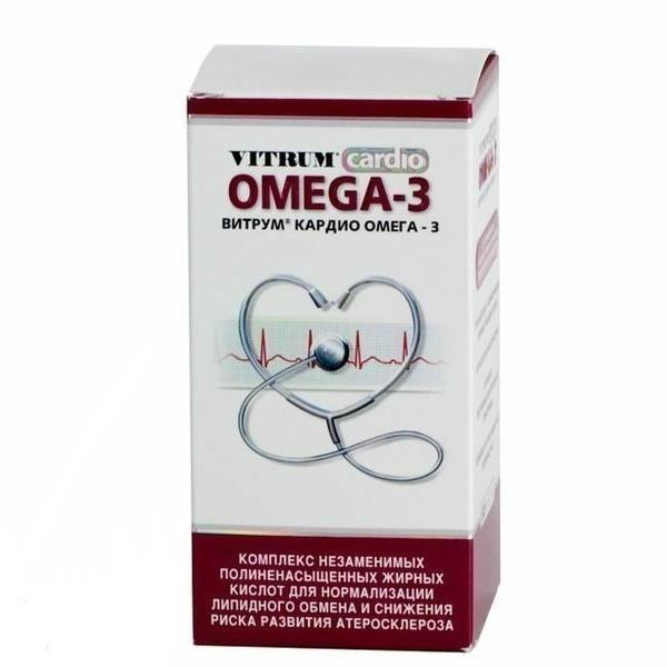 фото упаковки Витрум кардио Омега-3 - отзывы