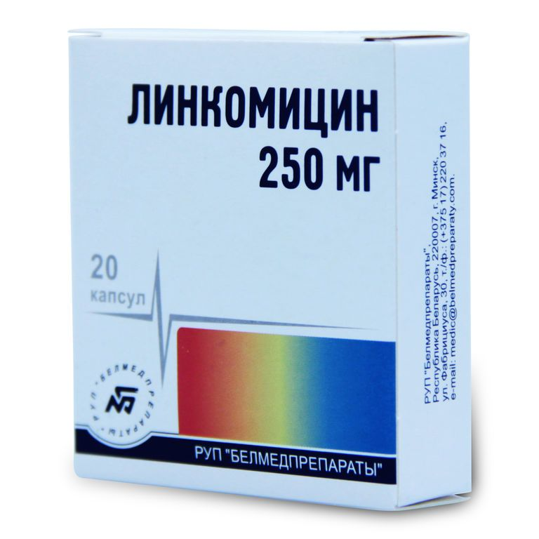 фото упаковки Линкомицин