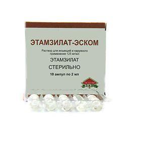 фото упаковки Этамзилат-Эском